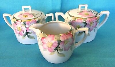 Choice item from 3 Noritake Azalea covered sugars or creamer