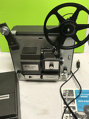 vintage BELL & HOWELL super 8 8mm movie projector