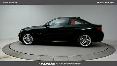 2017 BMW 2 Series 230i 230i 2 Series Low Miles 2 dr Coupe Gasoline 2.0L 4 Cyl Black Sapphire Metallic