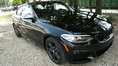 2017 BMW 2 Series M240i M240i 2 Series 2 dr Coupe Automatic Gasoline 3.0L STRAIGHT 6 Cyl Black Sapphire