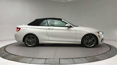 2018 BMW 2 Series 230i 230i 2 Series New 2 dr Convertible Automatic Gasoline 2.0L 4 Cyl Alpine White
