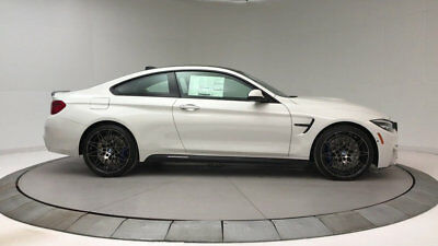 2018 BMW M4 Base Coupe 2-Door New 2 dr Coupe Manual Gasoline 3.0L STRAIGHT 6 Cyl Alpine White