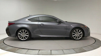 2015 Lexus RC 350 2dr Coupe RWD 2dr Coupe RWD Low Miles Gasoline 3.5L V6 24-Valve GRAY