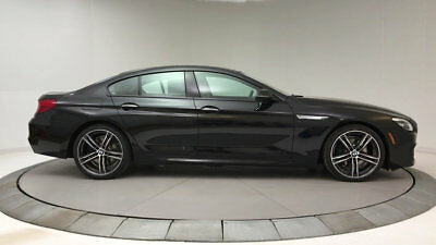 2018 BMW 6-Series 640i Gran Coupe 640i Gran Coupe 6 Series New 4 dr Automatic Gasoline 3.0L STRAIGHT 6 Cyl Black S