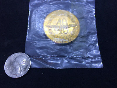 One Oz Ford Thunderbird 40Th Anniversary Bronze Coin 1955-1995 Hoffman Mint