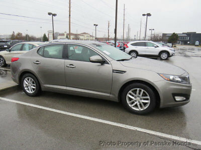 2013 Kia Optima 4dr Sedan LX 4dr Sedan LX Automatic Gasoline 2.4L 4 Cyl GREY