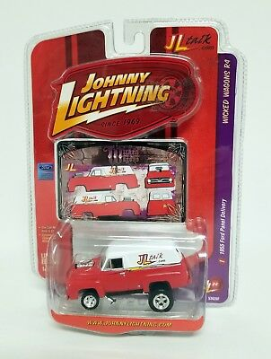 JOHNNY LIGHTNING 1955 FORD PANEL DELIVERY Wicked Wagons Die-Cast Car MIP 2008