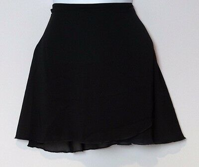 Body Wrappers Adult Large Black Leotard and Ballet Skirt