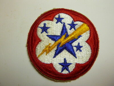 A   WW 2 U S Army Western Pacific Forces Cut Edge Snow Back Patch