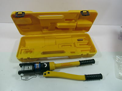TMS Crimper-WL-YQK-300 16 Ton Hydraulic Battery Cable Crimper Crimping Tool