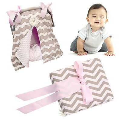 Breastfeeding Baby Car Seat Canopy Cover Nursing Scarf Cover Up Apron Nursing
