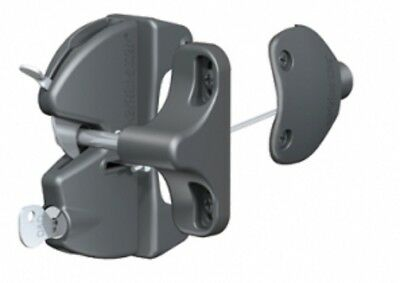 Gate lock Latch LLAA with Internal & External side key lock D & D Technologies