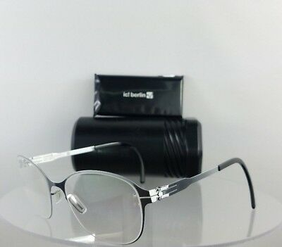 Brand New Authentic ic! Berlin Eyeglasses Innocent Fashion Silver 51mm Frame