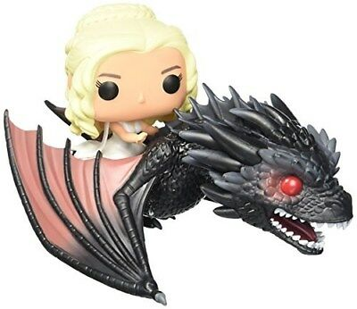Funko - POP Rides: GOT - Drogon & Daenerys Vinyl Action Figure New In Box