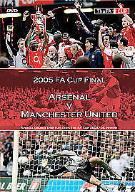 FA Cup Final: 2005 - Manchester United Vs Arsenal DVD (2005) Manchester United
