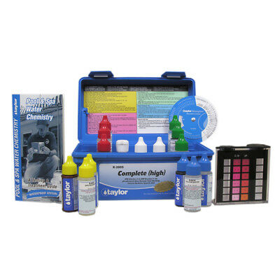Taylor K-2005 Complete Deluxe DPD Chlorine/Bromine Pool Test Kit w/ Reagents