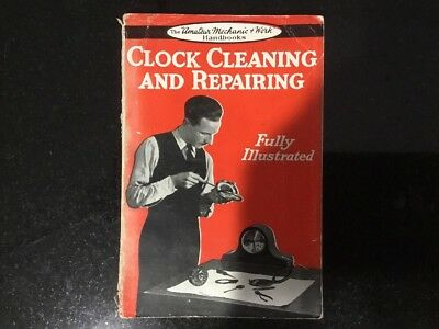 Vintage Clock Cleaning & Repairing 1941