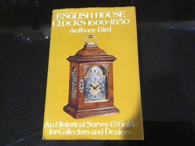 English House Clocks 1600-1850