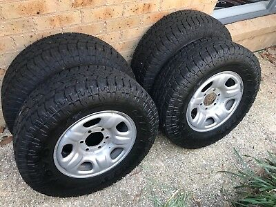 Holden Colorado Wheels and Tyres