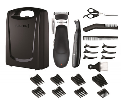 Remington HC366 Stylist Hair Clipper Set (Hair Clipper, Detail Trimmer, Scissors