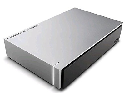 LaCie 8 TB Porsche Design USB 3.0 Desktop 3.5 Inch External Hard Drive for PC an