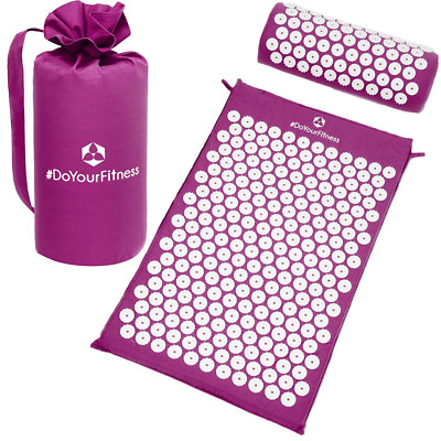 Acupressure SET »Jimuta« inlcuding a mat (66x40x2cm) with acupressure pillow (38