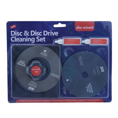 Schone Gadgets Ardisle CD DVD Disc Drive Cleaner Cleaning Set Fluid Laser Lens L