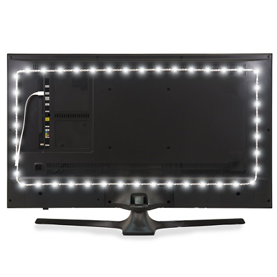 Luminoodle USB Bias Lighting - LED TV Backlight Strip - Ambient Home Theater Lig