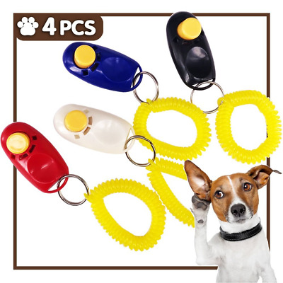 iNeith Dog Training Clickers Pet Puppy Kitten Cat Obedience Aid with Wrist Strap