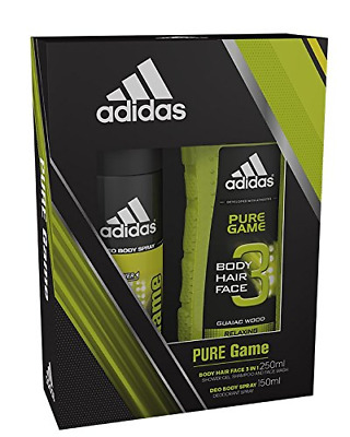 Adidas Pure Game Body Spray and Shower Gel Duo Gift Set