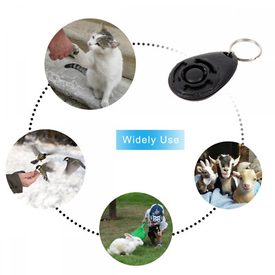 Dog Clicker, [4 PCS, Multi-Color] Diyife Training Clicker with Wrist Strap for D