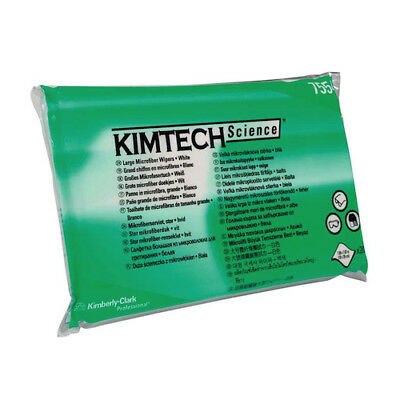 Kimtech   Science Lens Cleaning Microfibre Wiper 200 Wipers (75540)