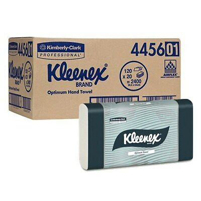 Kimberly Clark Kleenex Optimum Hand Towel 20 Packs 120 Towels (4456)