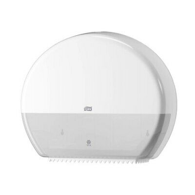 Tork Jumbo Toilet Roll Dispenser T1 White (554030)