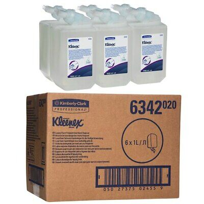 Kleenex Luxury Foam Frequent Use Hand Soap Cleanser 6 x 1 Litre (6342)