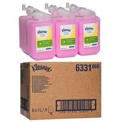 Kleenex Everyday Use Hand Soap Cleanser 6 x 1 Litre (6331)