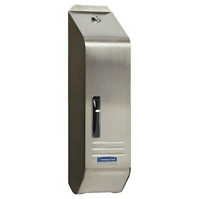 Kimberly Clark Stainless Steel Single Sheet Toilet Tissue Dispenser (4405)