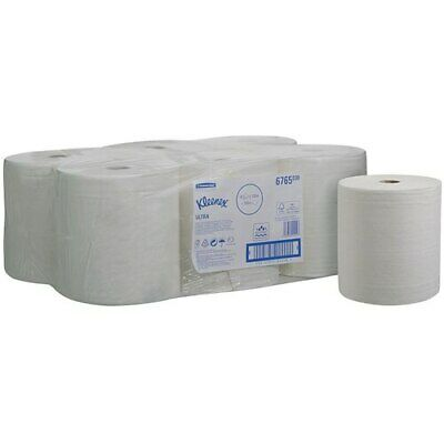Kleenex   Hard Roll Hand Towel White 6 Rolls (6765)