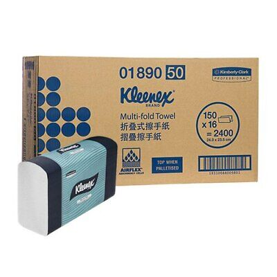 Kleenex Multifold Hand Towel 16 Packs x 150 Towels (1890)