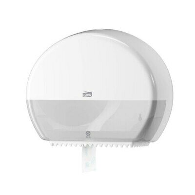 Tork   Mini Jumbo Toilet Roll Dispenser T2 White (555000)