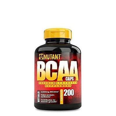 Mutant BCAA 200ct | Brand New | Free Delivery