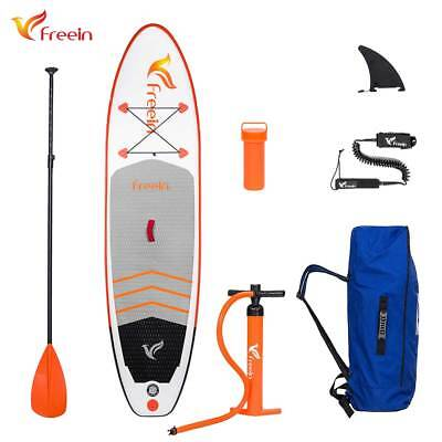 "Freein All Around Inflatable Stand Up Paddle Board, 10'2"" x 31"" x 6"", Full Kit"