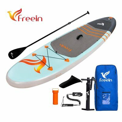 "Freein All Around Inflatable Stand Up Paddle Board, 10' x 33"" x 6"", Full Kit"