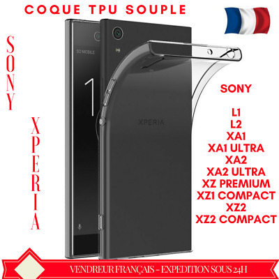 Coque Sony Xperia Xa1/2/xz Housse Tpu Silicone Gel Souple Ultra Slim Protection