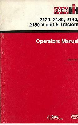 Case IH Tractor 2120 2130 2140 2150 V & E Ops Manual