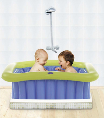 Brand new in gift box Jane universal bath tub fit shower tray from birth