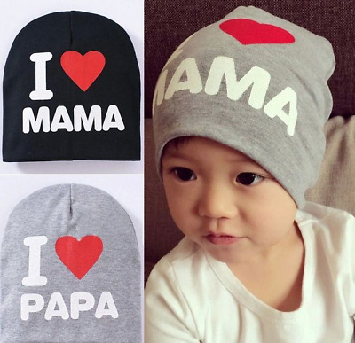 Spring Autumn Knitted Warm Beanie Cotton Baby Hat For Girls Toddler Baby Kids