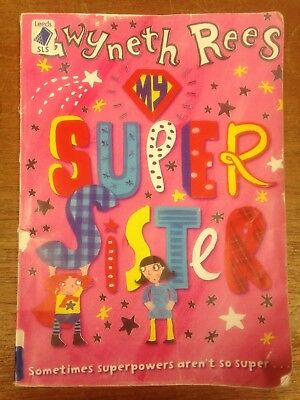 Super Sister, by Gwyneth Rees: EXTRA LARGE PRINT Paperback