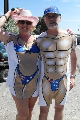 Any 2 Shirts Together - You Choose - Female Or Male Speedo Muscle Novelty Shirts