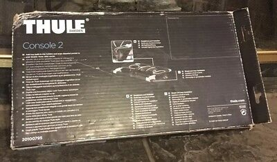 Thule Sweden Console 2 Cup Holders and Pocket for Double Thule Child Carrier